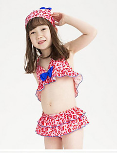 Fille Pois Points Polka Maillots de Bain,Nylon