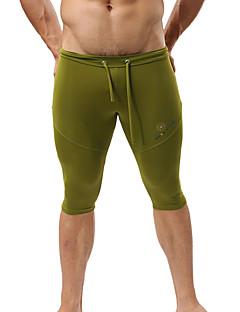Muškarci Trčanje 3/4 Hulahopke Kupaći kostimi Kratke hlače DonjiProzračnost Quick dry Moisture Permeability Visoka prozračnost (> 15.001
