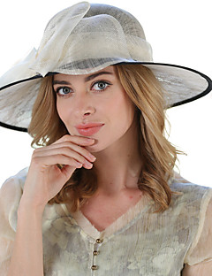Summer in Europe and the elegant yarn lace color matching hat Ms. Han edition bowknot along the beach sun hat
