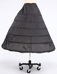 Spodničky Do áčka Po lýtka 6 Taft Bílá Černá Červená