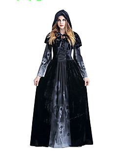 Jednodílné/Šaty Gothic Lolita Sweet Lolita Klasická a tradiční lolita Punk Lolita Rococo Princeznovské Retro Elegantní Viktoria Tarzı