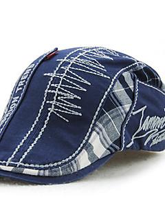 כובע כומתה (בארט) טלאים כותנה קיץ כל העונות וינטאג' יום יומי גברים