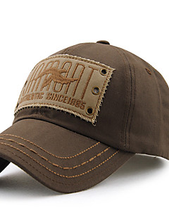 Unisex Vintage Na běžné nošení Léto Celý rok Kšiltovka Sluneční klobouk,Jednolitý Bavlna
