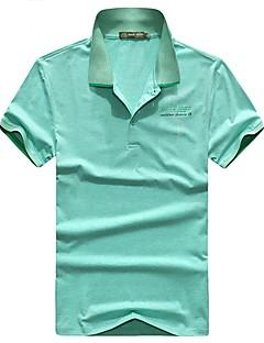 Miesten T-paita vaellukseen Hengittävä T-paita varten Kalastus Kesä M L XL XXL XXXL