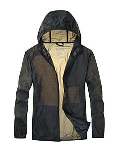 男性用 ハイキング Tシャツ 防風 抗紫外線 高通気性 日焼け防止ウェア のために キャンピング&ハイキング 釣り 夏 M L XL XXL XXXL