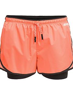 Mulheres Corrida Shorts Calças Respirável Secagem Rápida Permeável á Humidade Redutor de Suor Primavera Verão OutonoIoga Pilates