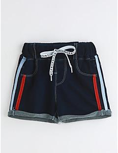 Drenge Shorts Afslappet/Hverdag Ensfarvet-Bomuld Sommer