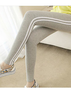 Női Csík Mintás Legging