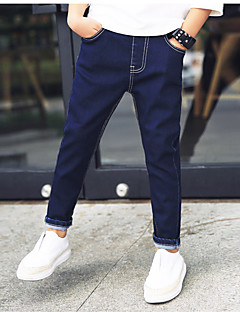Boys' Casual/Daily Solid Pants-Cashmere Summer