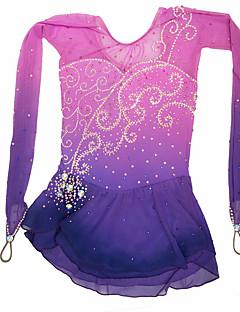 アイススケートウェア スケーティング スカート&ドレス ドレス 高弾性 フィギュアスケートのドレス スパンデックス スケートウェア