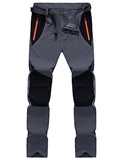 Heren Softshell broek Sneldrogend Ademend Broeken/Regenbroek/Overbroek voor Kamperen&Wandelen M L XL XXL XXXL