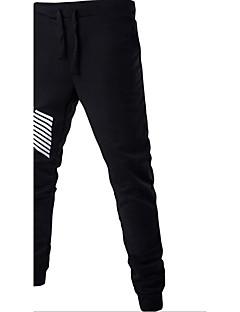 メンズ ストリートファッション ミッドライズ ルーズ strenchy チノパン パンツ ソリッド