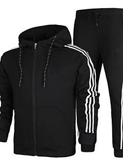 남성용 달리기 운동복 방풍 봄 가을 스포츠 착용 달리기 폴리에스터