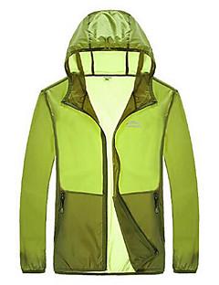 Pánské Oblečení proti sluníčku Outdoor a turistika Rybaření GolfVoděodolný Prodyšné Rychleschnoucí Odolný vůči UV záření Přední zip Lehké