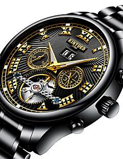 Erkek Genç Spor Saat Asker Saat Elbise Saat İskelet Saat Moda Saat Bilek Saati mekanik izle Benzersiz Yaratıcı İzle Gündelik Saatler