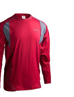 Herrn T-Shirt für Wanderer warm halten Rasche Trocknung Atmungsaktiv Hosen/Regenhose für Skifahren Radsport/Fahhrad Frühling M L XL XXL