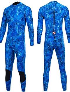 Bluedive Femme Homme 3mm Combinaison  Intégrale Garder au chaud Nylon Néoprène Tenue de plongée Manches Longuestriathlon/Combinaison