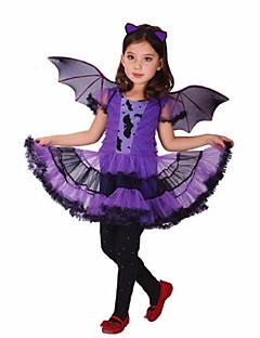 Cosplay-Asut Halloween Props Juhla-asu Naamiaisasu Cosplay Elokuva Cosplay Purppura LeninkiHalloween Joulu Karnevaali Lasten päivä Uusi