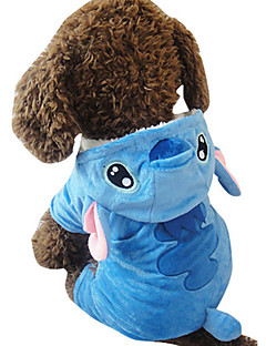 Dog Costume Dog Clothes Cosplay Animal Blue