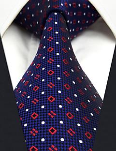 Для мужчин Винтаж Для вечеринки Для офиса На каждый день Офисный Высокое качество Мода Галстук,Все сезоны Шёлк