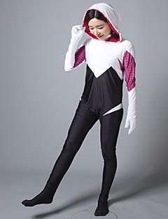 Ternos Zentai Morphsuit Ternos Zentai com Padrão Morphsuit Fantasias de Cosplay Super-Heróis Ninja Fantasias Fantasia ZentaiFantasias de