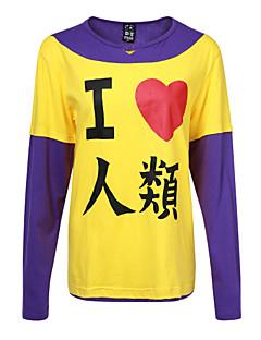 geinspireerd door Geen Wedstrijd Geen Leven Cosplay Anime Cosplaykostuums Cosplay Sweaters Print  Lange mouw T-shirt Voor Mannelijk