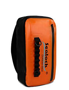 Sealock 25 L Bolsa Impermeável Mochila Impermeável Prova-de-Água Durável para Ciclismo/Moto Mergulho / Náutica Exterior