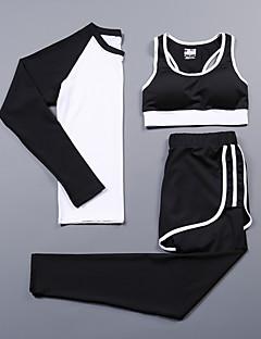 Dame T-skjorte til jogging LangermetSykling Camping & Fjellvandring Fitness, Løping & Yoga Hjelp til å miste vekt Fort Tørring Fritid