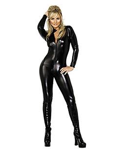 Wild Fata SM Stil fara spate Deluxe din piele PU uniforme Sexy