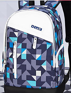 Unisex Tašky Celý rok Tkanina Oxford Na rameno s pro Ležérní Vodní modrá