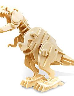 Puslespill GDS-sett 3D-puslespill Byggeklosser GDS-leker Dinosaur