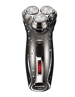 Máquinas de barbear eléctricas Homens e Mulheres Rosto 220V Impermeável Design fino Design Portátil Leve e conveniente Silencioso e sem