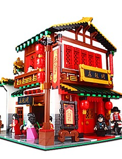 Bouwblokken Voor cadeau Bouwblokken Chinese architectuur Architectuur Kunststoffen 14 jaar en ouder Speeltjes