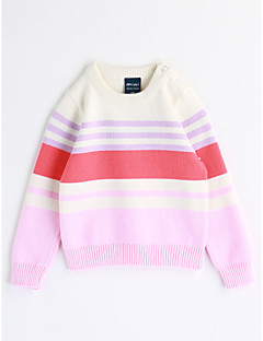 Girls' Stripe Blouse,Cotton Fall Long Sleeve