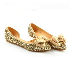Gold Flat Shoes For Women