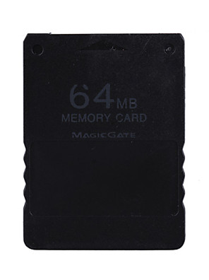PS2 용 64메가바이트 magicgate 메모리 카드