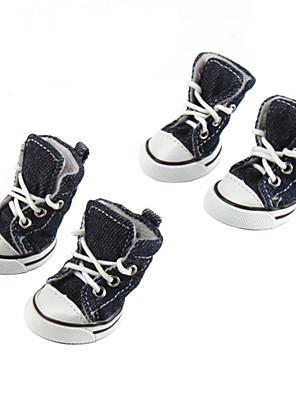 נעלי כלבים קז'ואלים בסגנון דנים (XS-XL, צבעים מגוונים)