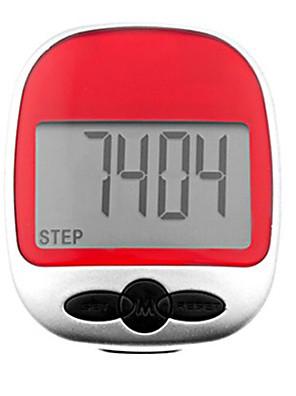 Pedômetro Multifuncional grande tela para Corrida e caminhada Randomizatio Cor