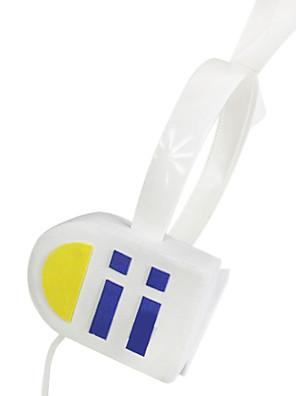 אביזרים נוספים קיבל השראה מ Vocaloid Kagamine Rin אנימה / משחקי וידאו אביזרי קוספליי אוזניות לבן PVC נקבה