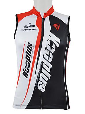 KOOPLUS® Camisa para Ciclismo Homens Sem Mangas Moto Respirável / Secagem Rápida / Zíper Frontal / VestívelColete / Camisa/Fietsshirt /