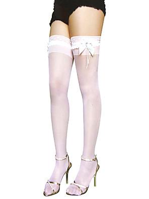 Sokken en kousen Klassiek en Tradtioneel Lolita Lolita Lolita Wit Lolita Accessoires Kousen Kant Voor Dames Nylon