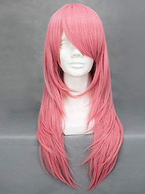 Cosplay Paruky Reborn! Bianchi Růžová Střední Anime Cosplay Paruky 65 CM Horkuvzdorné vlákno Dámský