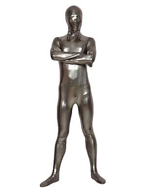 Silver Latex Full Body Shiny Zentai