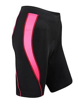 SANTIC® Cykelshorts med indlæg Dame Cykel Åndbart / Hurtigtørrende / Påførelig Shorts / Forede shorts / UnderdeleSpandex / Nylon /