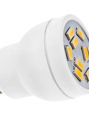 3W GU10 Spot LED MR11 9 SMD 5630 270 lm Blanc Chaud AC 100-240 V