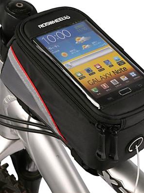 ROSWHEEL® Cyklistická taškaBrašna na rám / Mobilní telefon Bag Dotyková obrazovka / Telefon/Iphone Taška na kolo PVC Taška na koloiphone