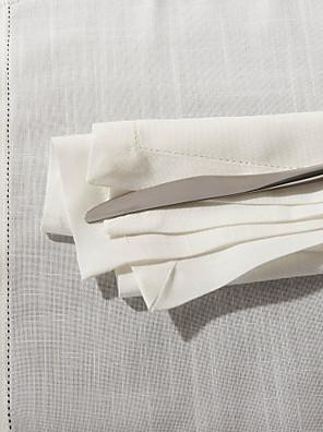 "18 ""X18"" Modern Style White vierkant servetten"
