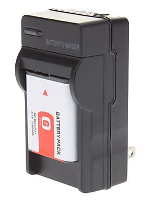 NP-BG1 np-FG1 accu met lader voor de Sony DSC-W100 T100 W120 W150 W200 W290 W300
