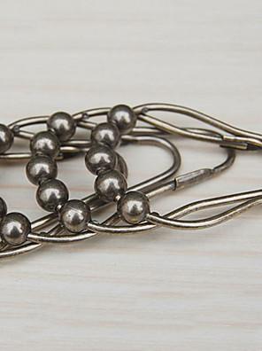 Badeforhæng Kroge, High Class Retro Bronze Bead (12 pack)