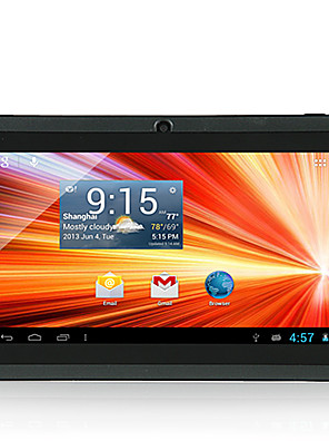 Other A33 Android 4.4 Tablet RAM 512MB ROM 8GB 7 tommer 1024*600 Quad Core